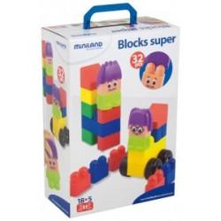 Construcción Blocks Súper 32 piezas
