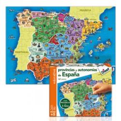Puzzle Provincias de España