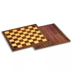 Tablero ajedrez madera