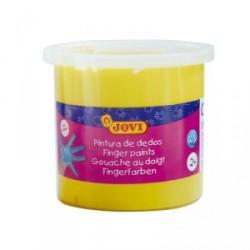 Pintura dedos Jovi 125 ml amarillo