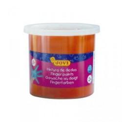 Pintura dedos Jovi 125 ml naranja unidad