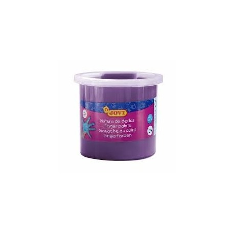 Pintura dedos 125 ml Jovi violeta