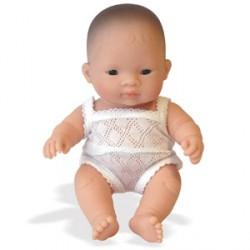Baby niña asiática
